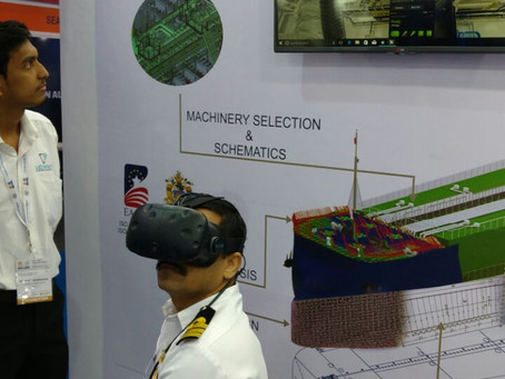 Virtual reality project demonstration at INMEX SMM 2017