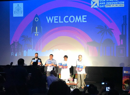 At Goa Startup and Innovation Day 2018