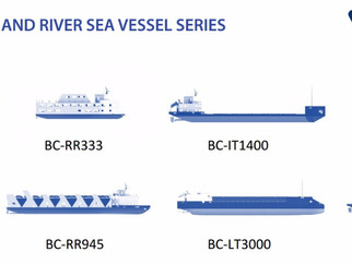 "UNVEILED "" INLAND AND RIVER SEA VESSEL SERIES"" AT INMEX SMM INDIA 2017"