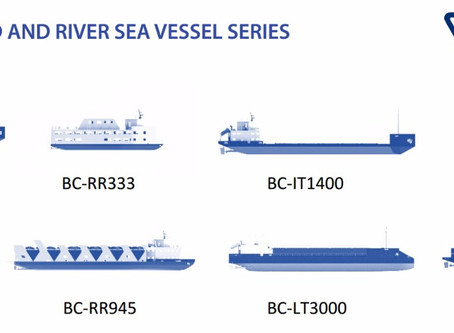 """UNVEILED """" INLAND AND RIVER SEA VESSEL SERIES"""" AT INMEX SMM INDIA 2017"""