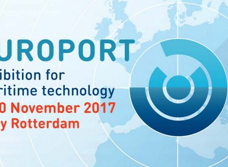 Meet us at Europort 2017 at Rotterdam