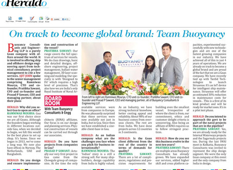 Becoming a Globally Recognized Brand. (Herald)