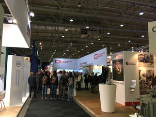 Our European team visits EuroPort 2017 in Rotterdam