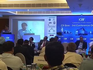 CII Goa 3rd Conference on Logistics.