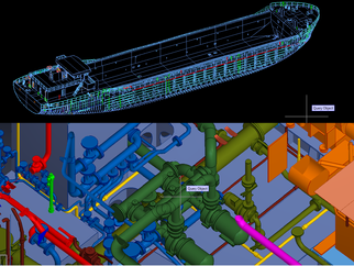 Complete detail design engineering of a Coaster/River Sea Vessel (#RSV)