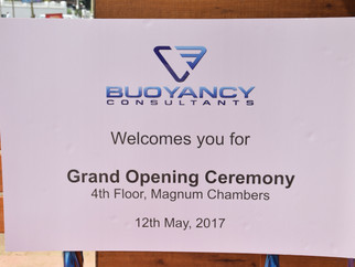 Opening ceremony of our new office setup  in Panaji Goa.