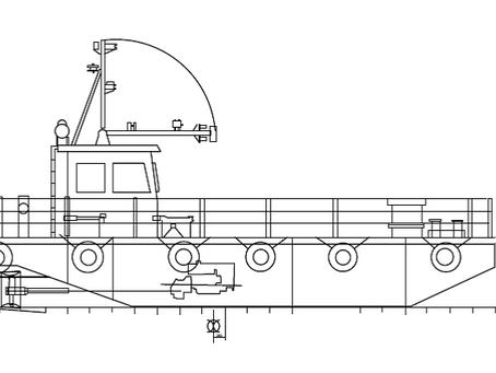 Basic design for Crane Boat completed