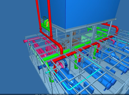 Detail design work scope of chiller Plant completed