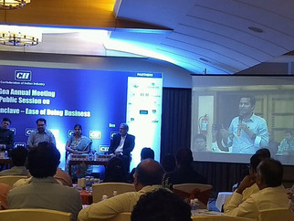 Attended CII Conference on Goa Economic Conclave