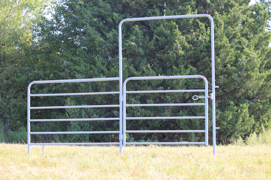 6ft Bow Gate with 6ft Extensions