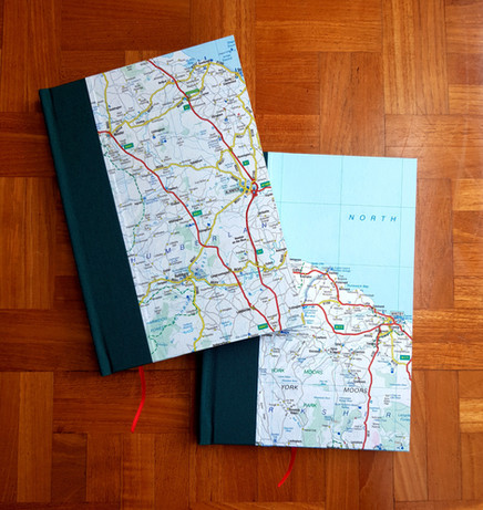Personalised Map Covers