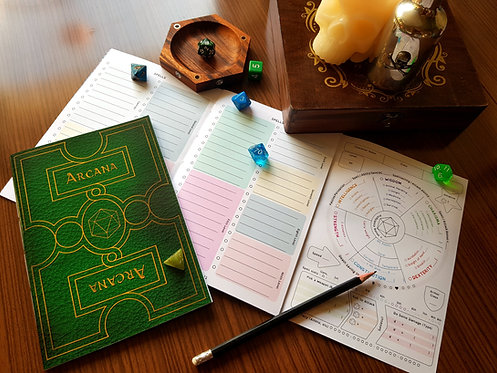 Arcana Character Book