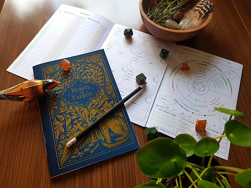 Beasts of Faerun Character Book
