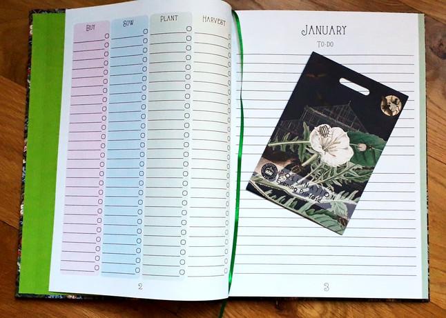 Gardening Diary - Internal