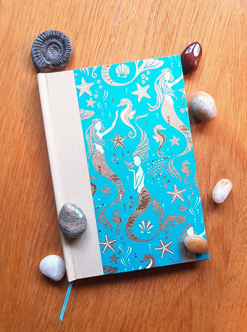 Mermaid Notebook (A5 lined)