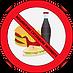 nourriture extérieure interdite