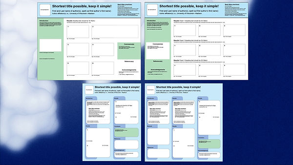 Free proven poster templates