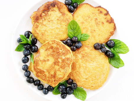 Quinoa Pancakes With Pumpkin And Apple