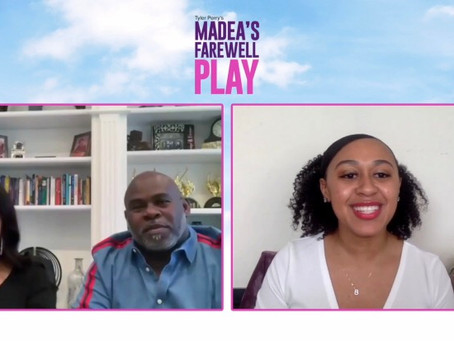 "David and Tamela Mann Talk TV Debut of ""Madea's Farewell Play"""