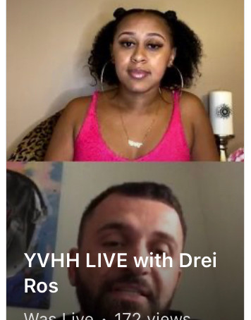 YVHH LIVE with Recording Artist Drei Ros
