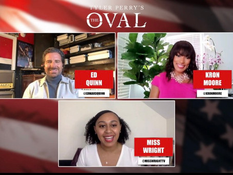 Tyler Perry's The Oval Exclusive Interview on the Season 2 Premiere