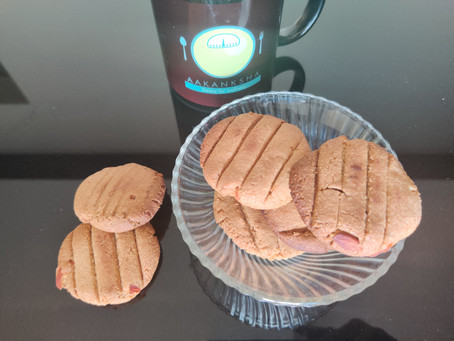 Nutritious Almond Wheat Cookies