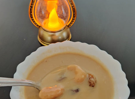 South Indian Traditional Dessert: Coconut Kheer