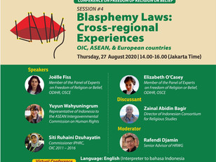 Web conference on Indonesia