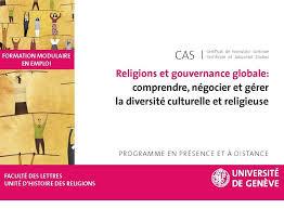 Comprendre, négocier, gérer la diversité culturelle et religieuse