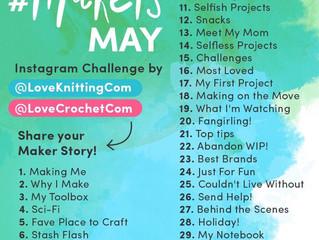 Love Knitting / Love Crochet #MakersMay photo challenge