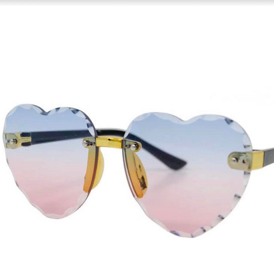 Kids Heart Shaped Glasses
