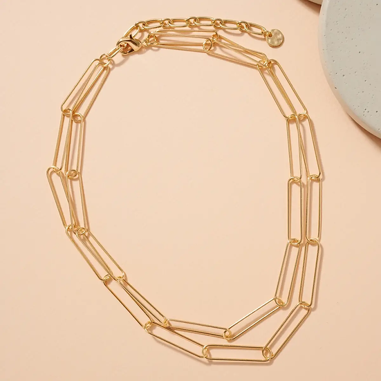 Double Chain Necklace (Adjustable)