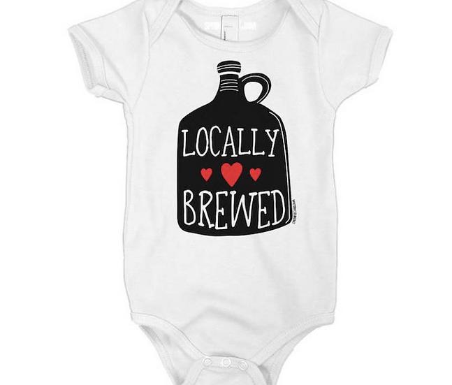 Locally Brewed Kids Onesie