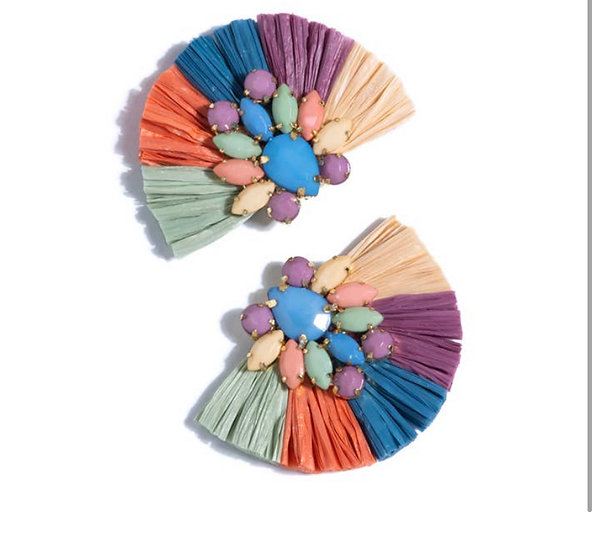 Nanette Earrings - Multi