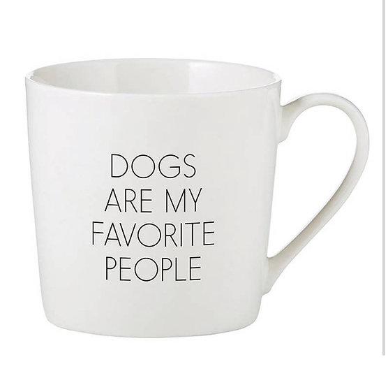 Dogs Are My Favorite People Mug