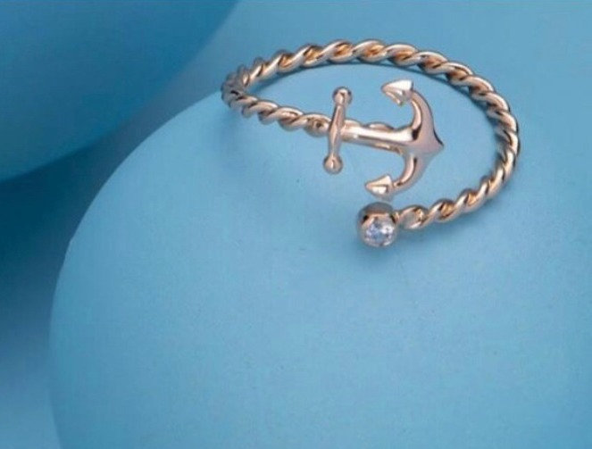 """Under the sea"" Anchor Ring"