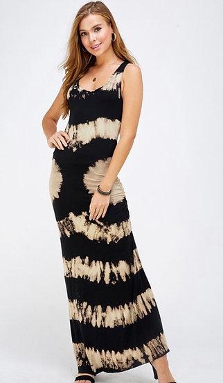 Die dye Maxi Dress