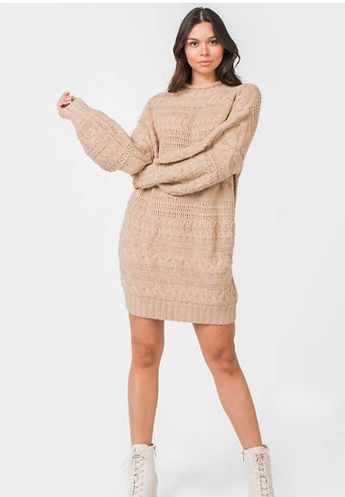 Relaxed Sweater Dress
