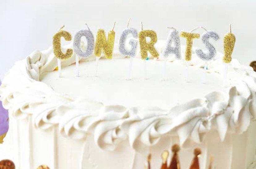 Congrats! Candles