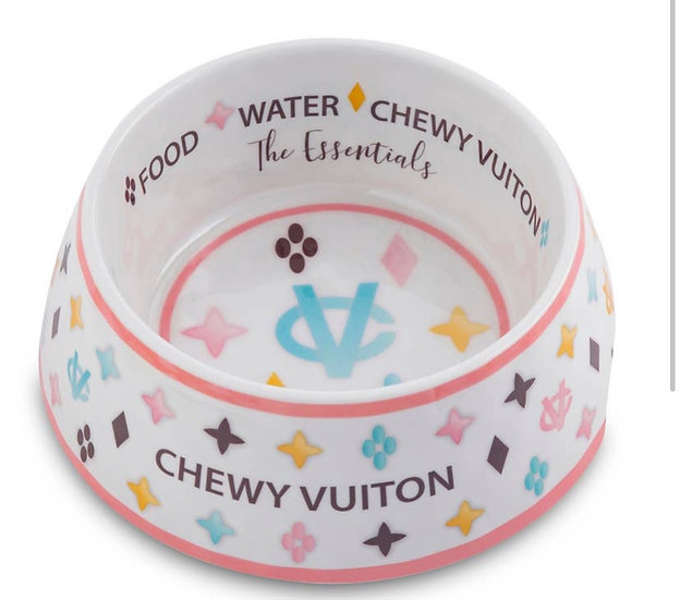Chewy Vuitton Bowl  (In Store)