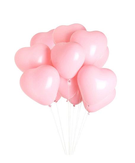 12 Heart Balloon Bouquet