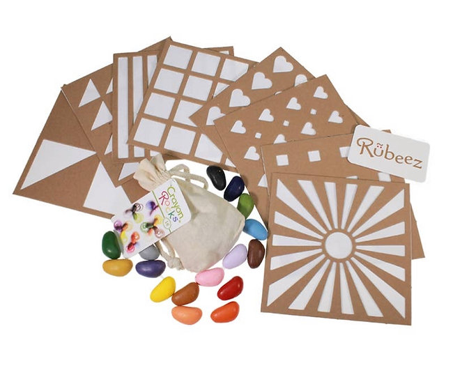 Rubeez Art Box + 16 Colors