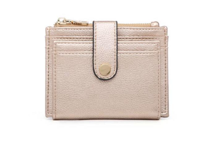 Wallet Card Holder Gold