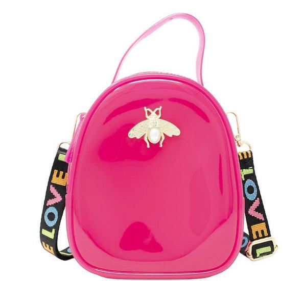 Jelly Crossbody Bee Bag