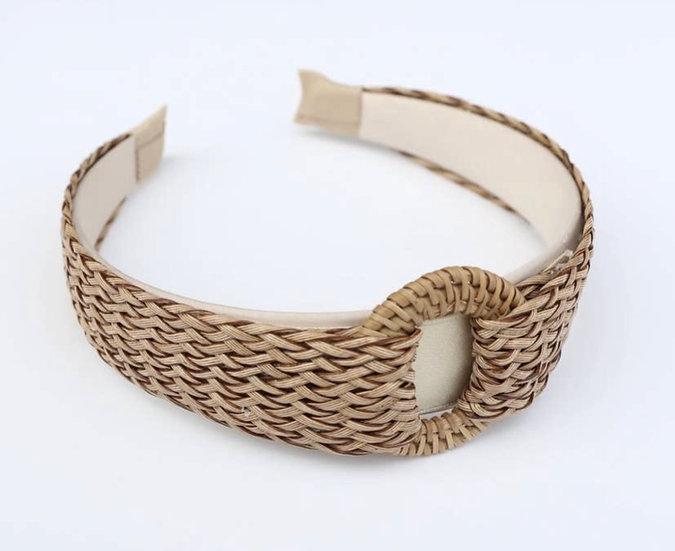 Vintage Style Grass Braided Headband