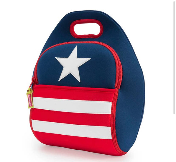 Stars & Stripes Eco-Friendly Lunch bag