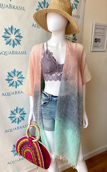 Ombre Pastel Kimono
