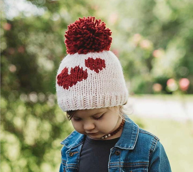 Sweetheart Knit Beanie Hat