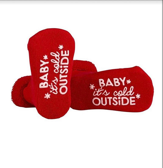 Baby Socks Baby It's Cold Outside