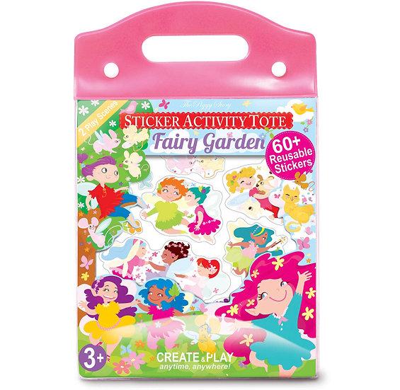 Fairy Garden Sticker Activity Tote